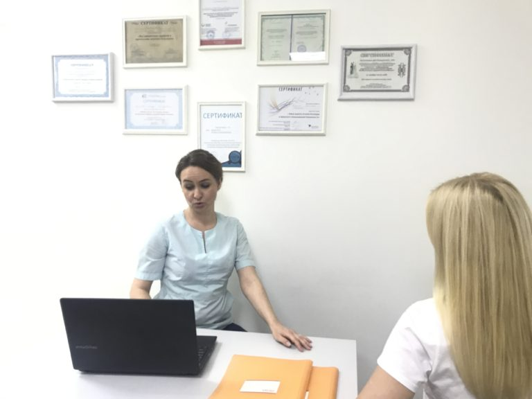 На приеме гинеколога
